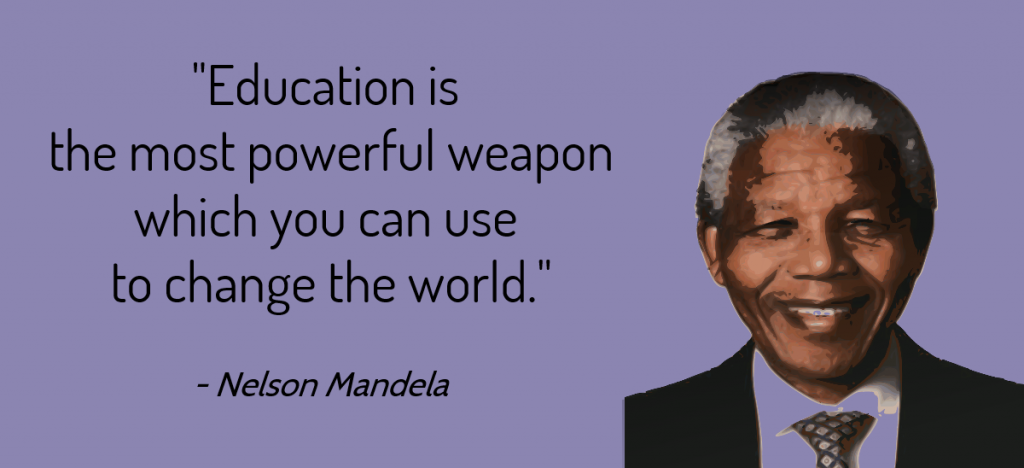 Interculturele coaching quote Nelson Mandela